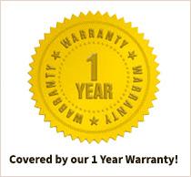 1 year Warranty!